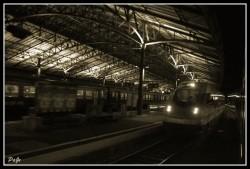 Gare de Lausanne atmosphère