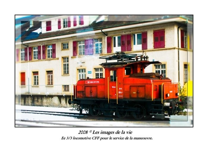 Locomotive for the operation of railway Switzerlan
