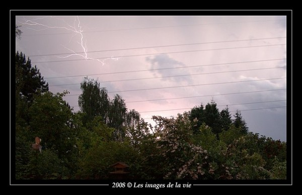 A storm after days of high heat.