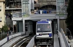 metro in Lausanne