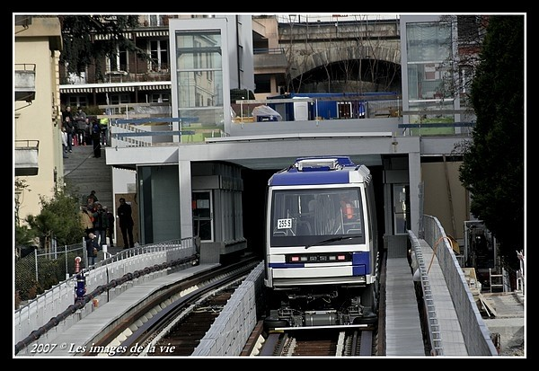 metro in Lausanne