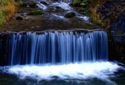 Small waterfall!
