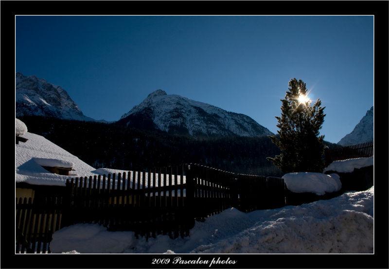 The sun Grison in Switzerland!