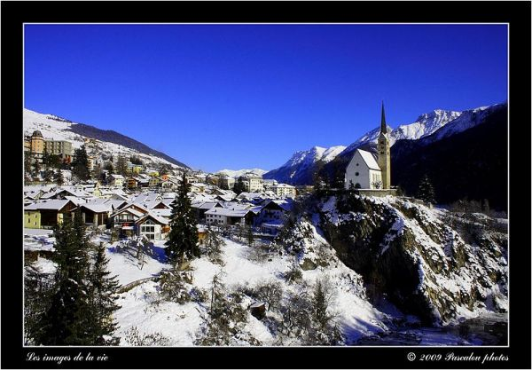 Village of Scuol in the Grisons