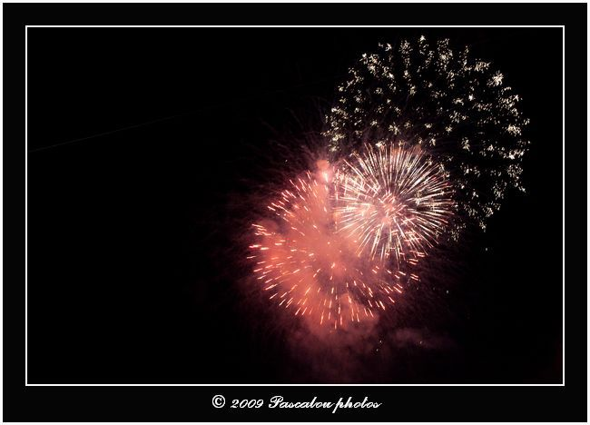 Feux d'artifice.Fireworks.