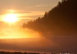 coucher de soleil à savigny.
