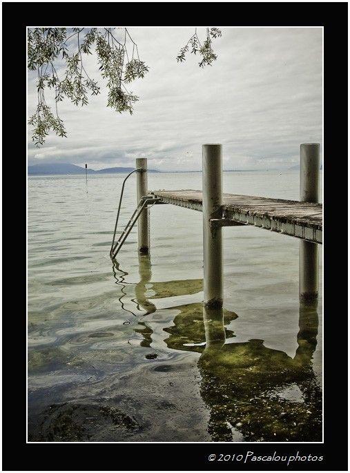 Petit pont sur la lac leman