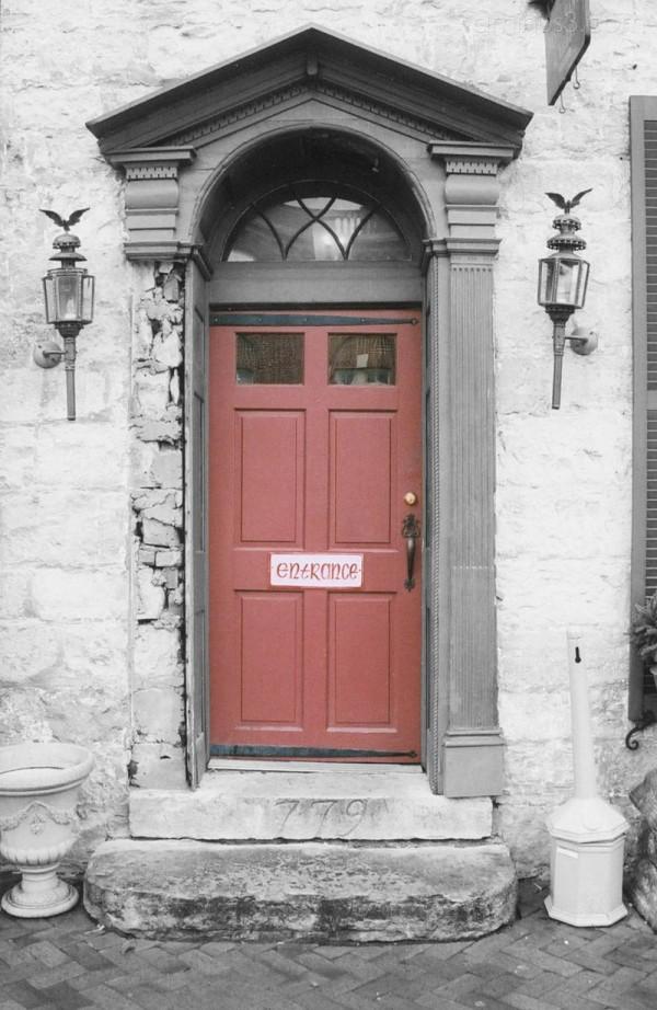 door selective colored Bardstown