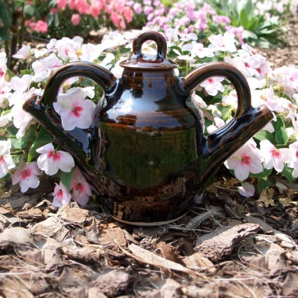 Wheel thrown Ceramic teapot great gift idea