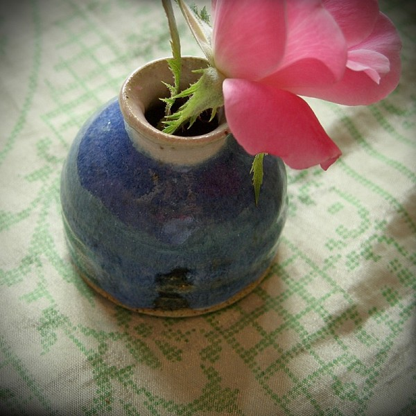 mini vase wheel-thrown pottery ceramics gift