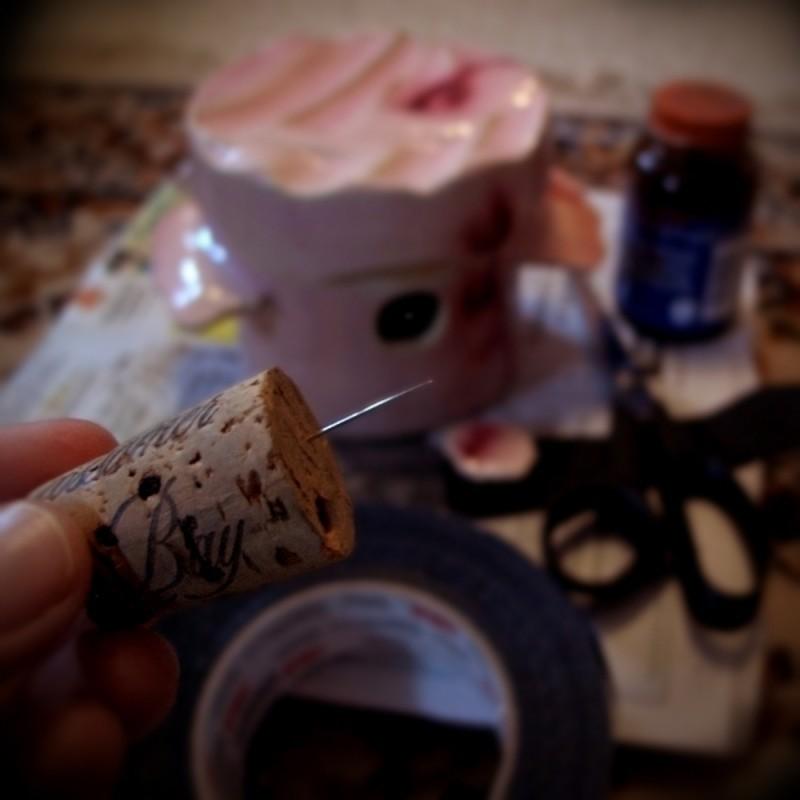 wheel-thrown ceramic pinhole-camera pottery