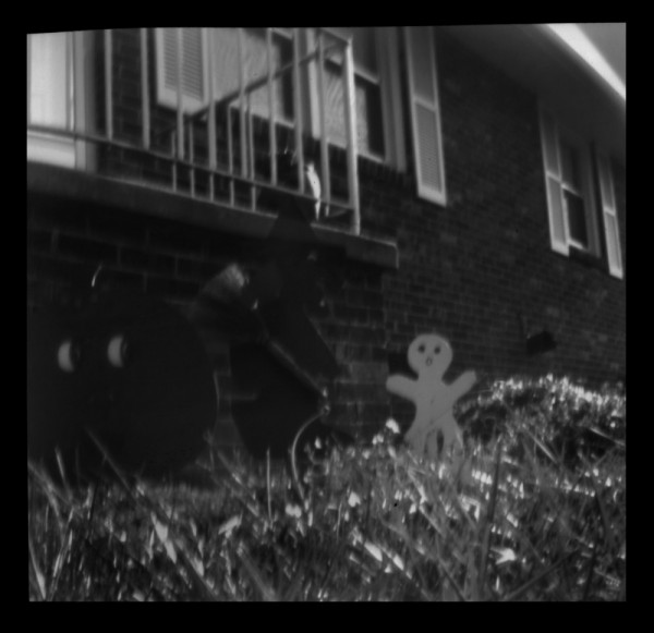 pinhole ghost gingerbeadman ceramics camera