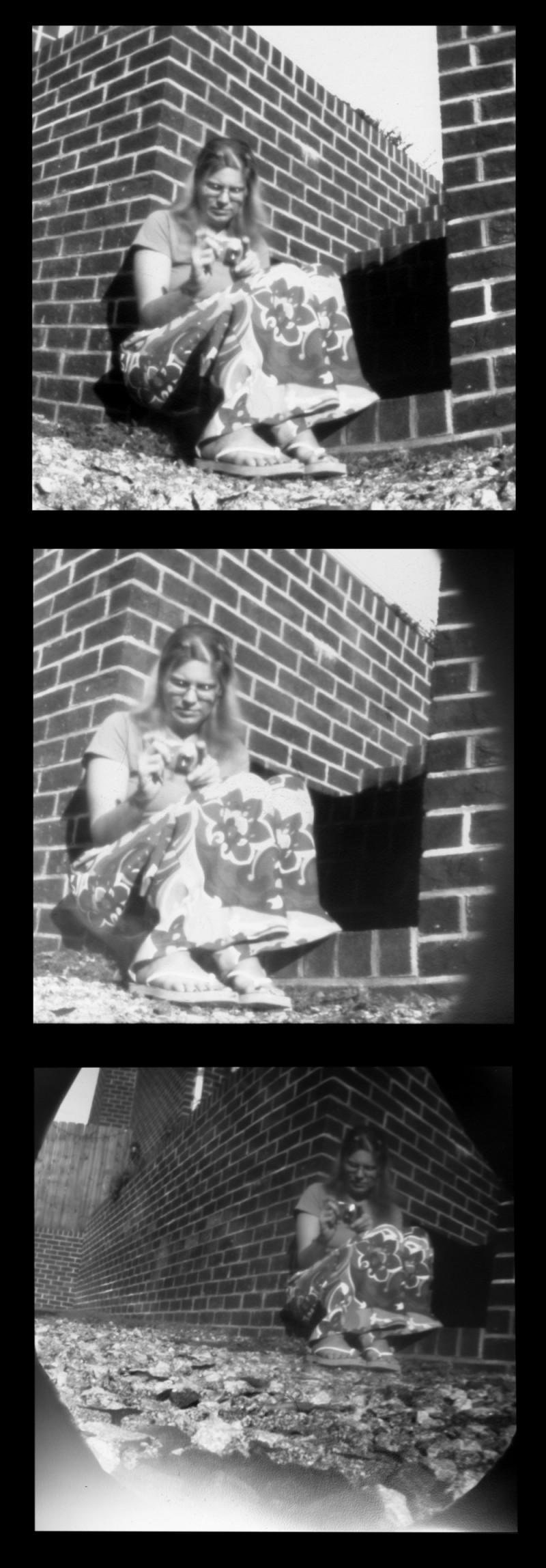 pinhole ceramic cameras pottery wheel-thrown b-w