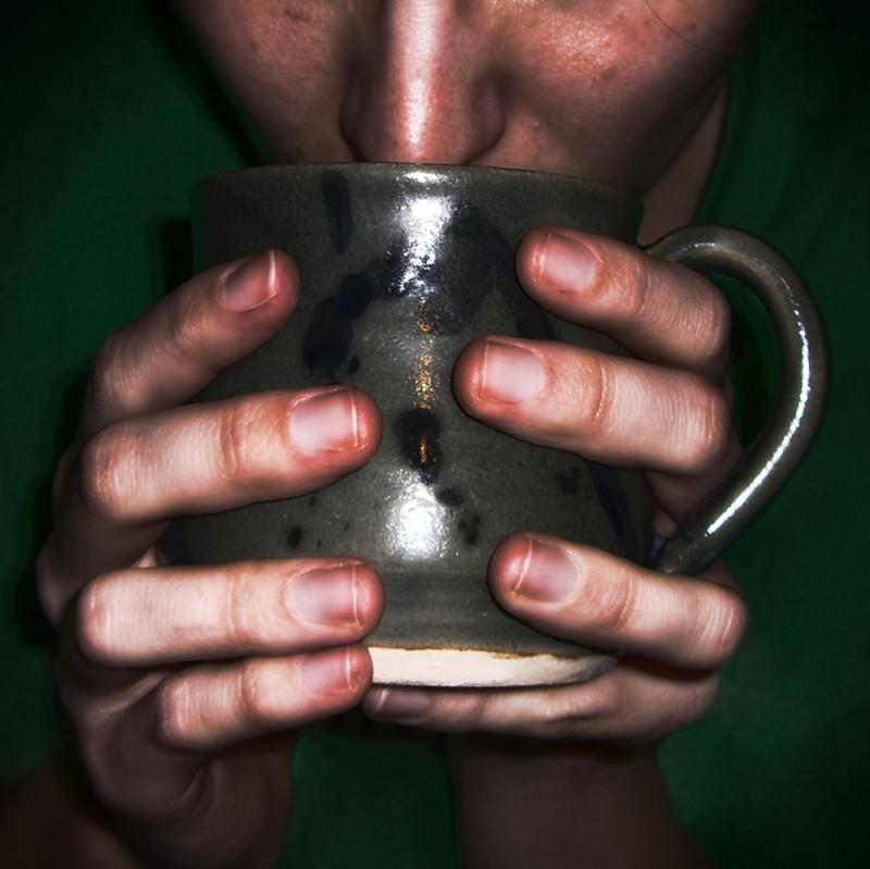 wheel-thrown mug pottery cermaics