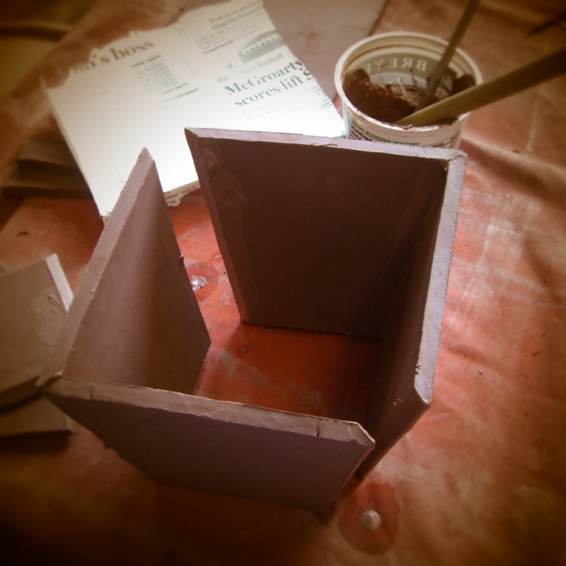 Box in the making