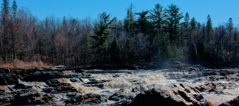 St. Louis river at Jay Cooke State Park, Minnesota