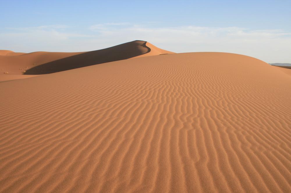 Dune in Moroccan Sahara