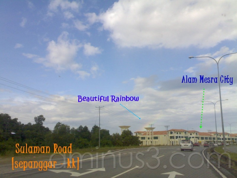 Beautiful Rainbow at Alam Mesra City