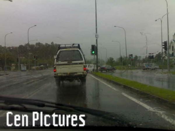 Rainy Day at Sulaman Road