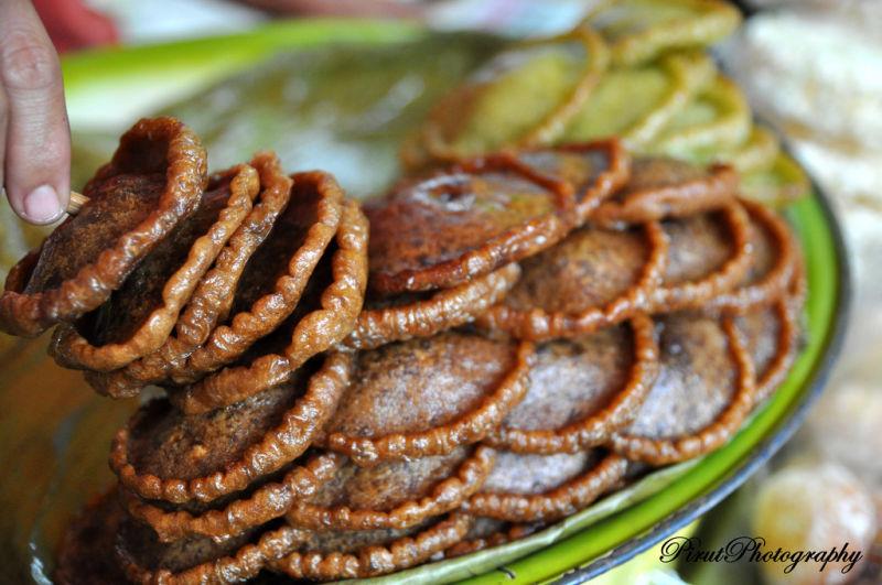 Panjaram - traditional home made food in Sabah.