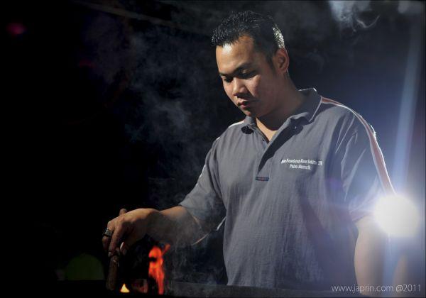 The Man : BBQ
