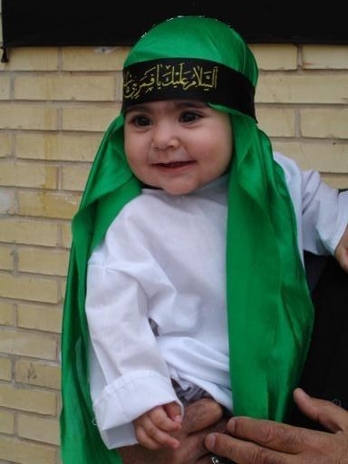به یاد علی اصغر امام حسین ع