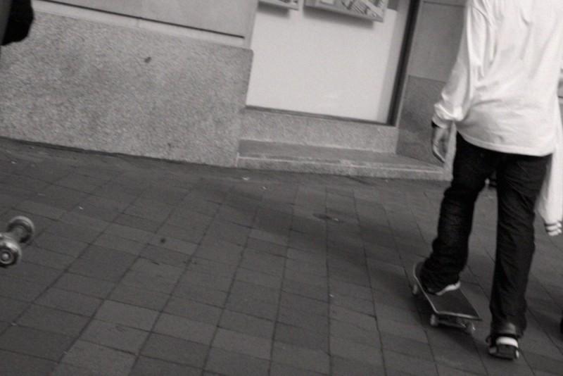 skateboarder in DC