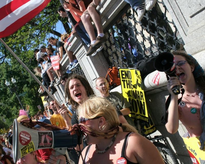 War Protest in DC (September)