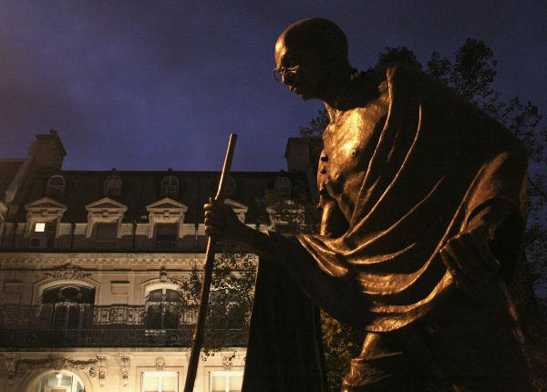 Ghandi at Night