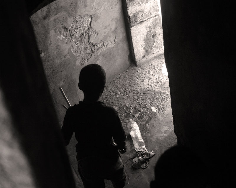 Boy in Essaouira, Morocco