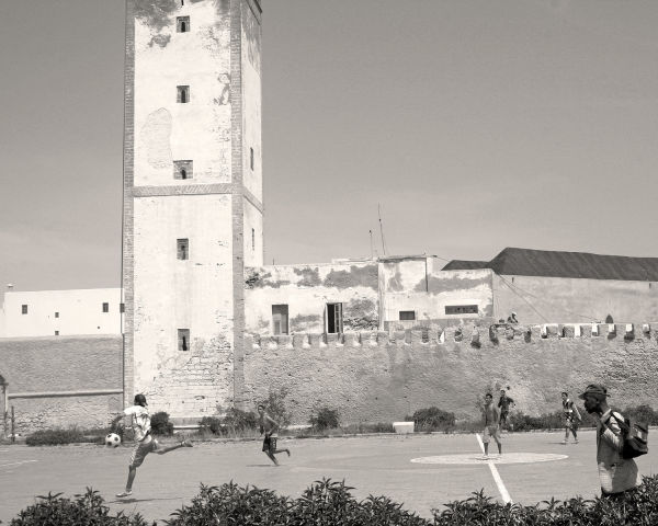 Soccer in Essaouira, Morocco