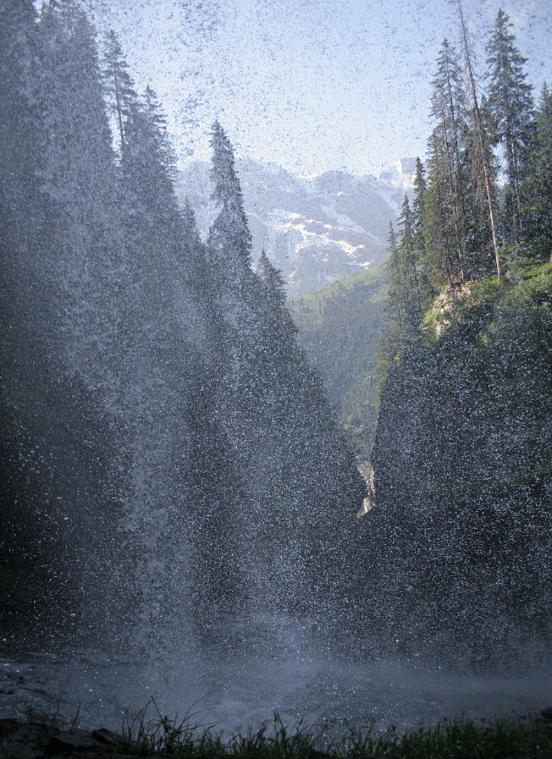 Waterfall in Switzerland