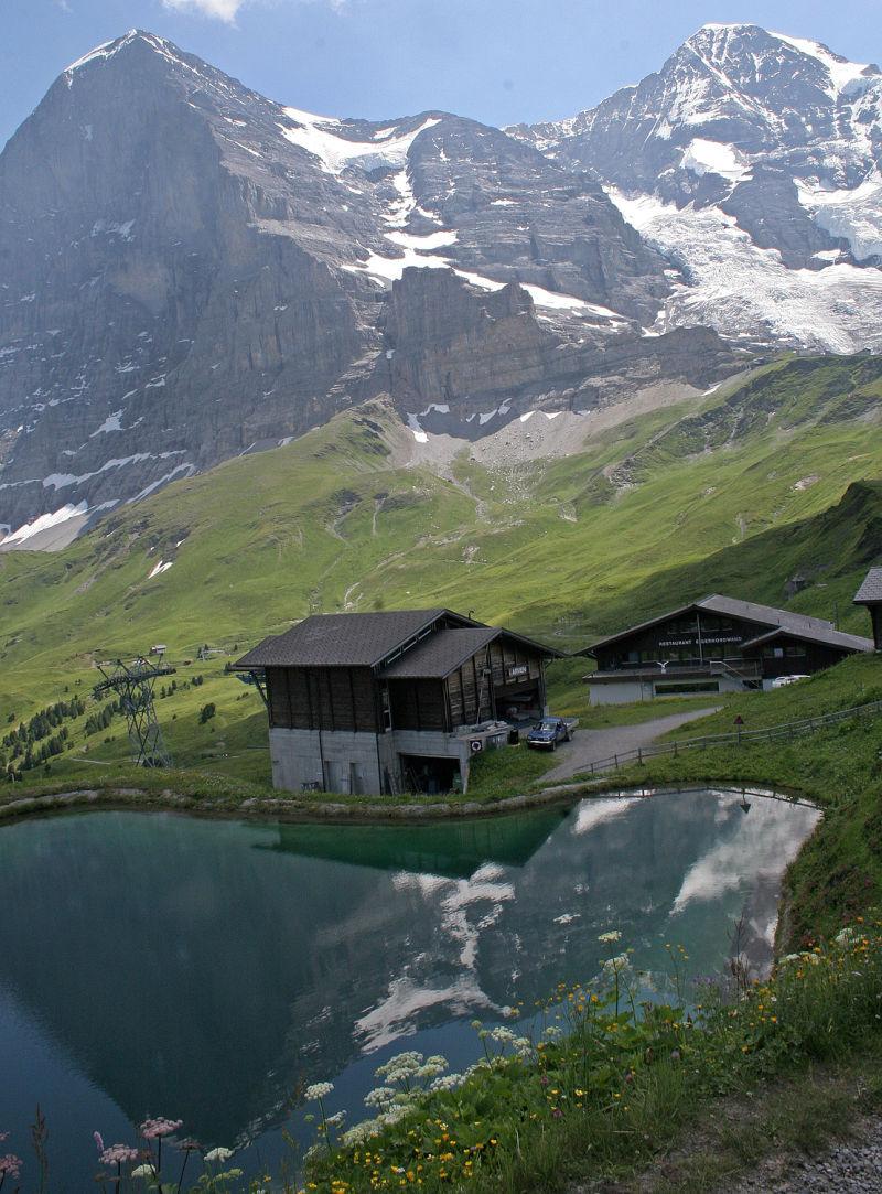 On Hike from Manlichen, Switzerland
