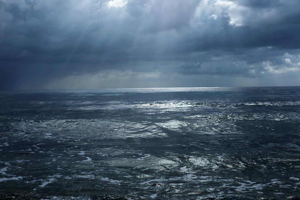 Ocean in Rincon, PR