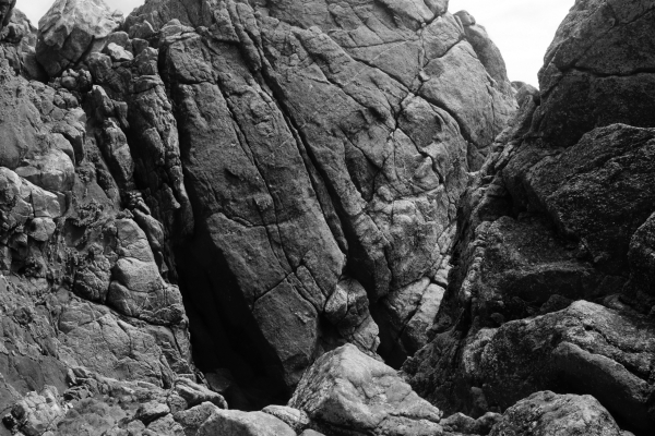 Rock Formation on Côte Sauvage