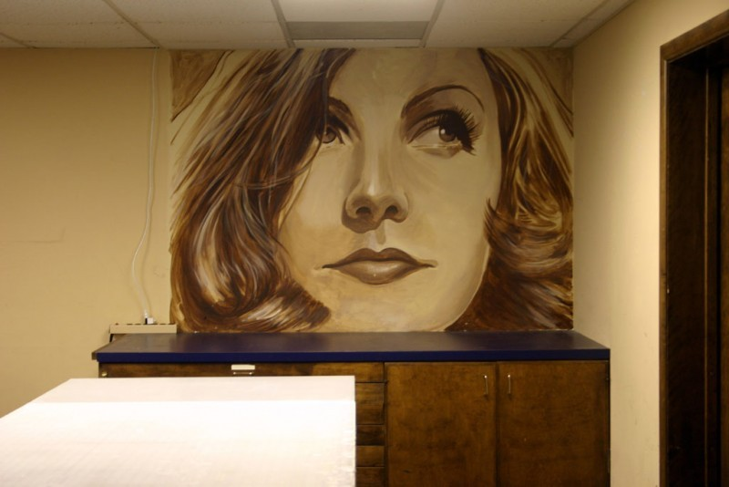 Mural by South Carolina artist Charlie Pate