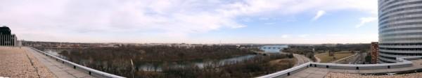 Panorama of the Potomac River a from Arlington, VA