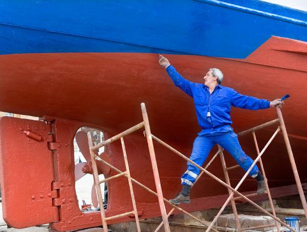 astillero en Santander (Santander shipyard)