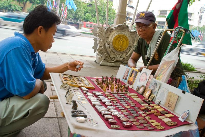 street scene in Bangkok