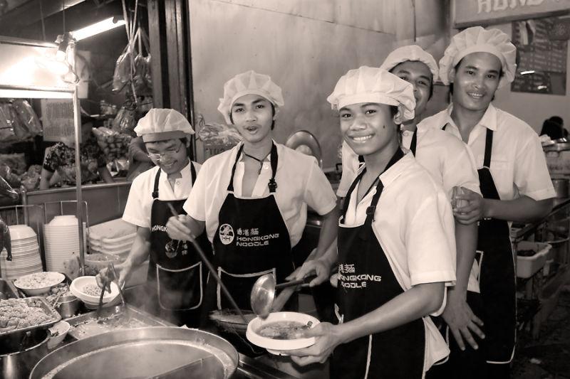 noodles in Bangkok