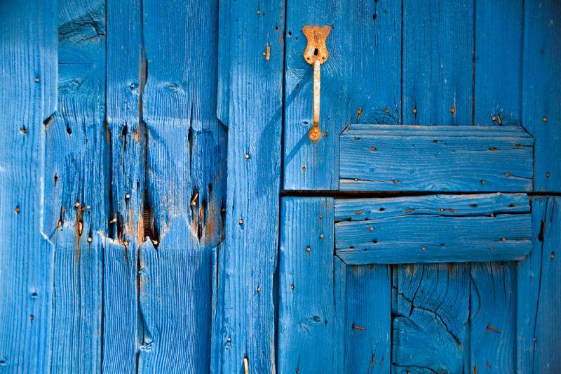 puerta azul / blue door