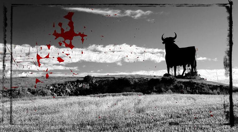 spanish souvenir (the bloody bull)