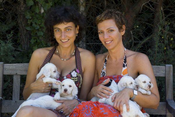 two ladies
