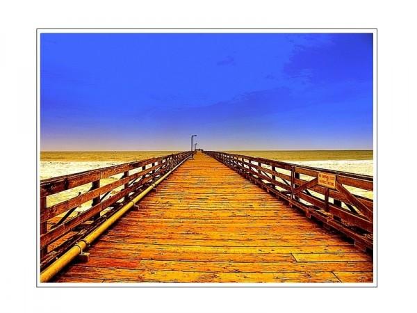 The Pier alone.