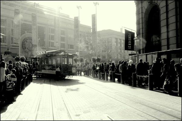 Trolley Car TurnAround Point.