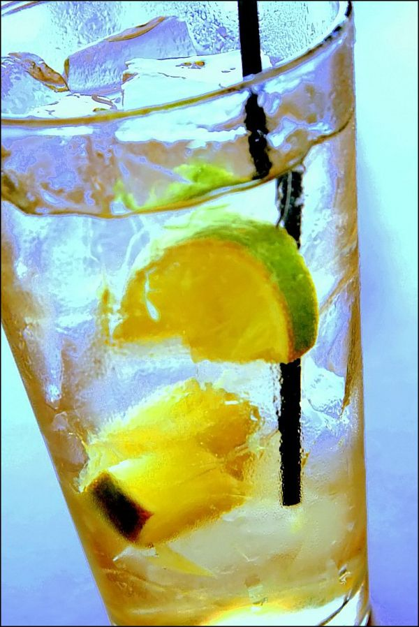 Ice Water with Lemon