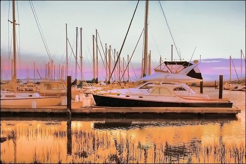 On Golden Harbor
