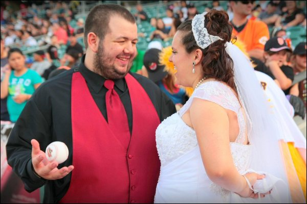 Wedding at the Game