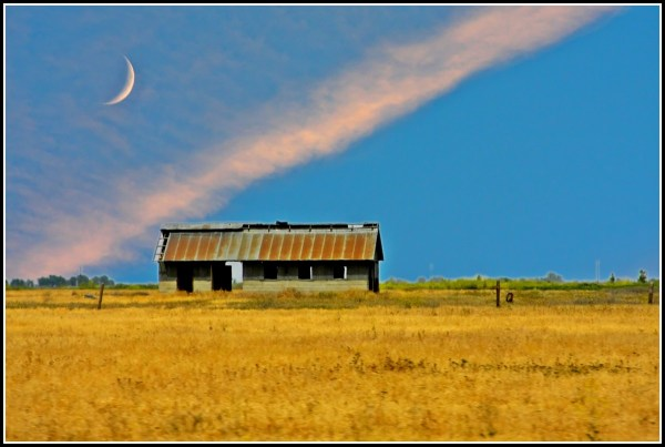 The Moon and the Shack