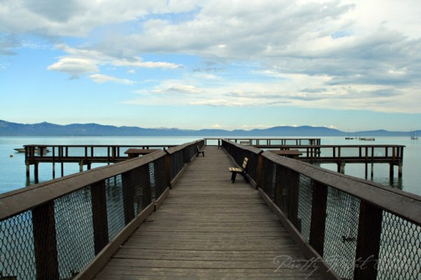 Pier on Lake Tahoe